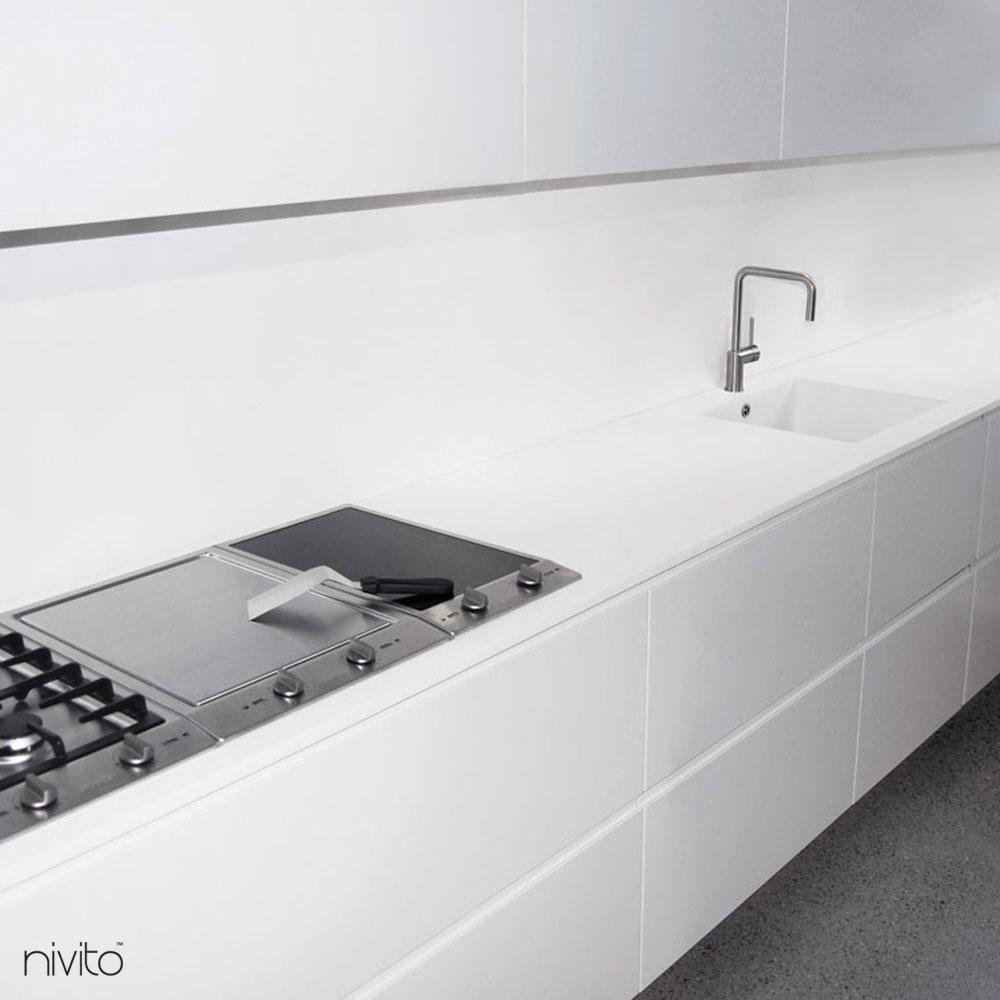 Brosse acier eau robinetterie