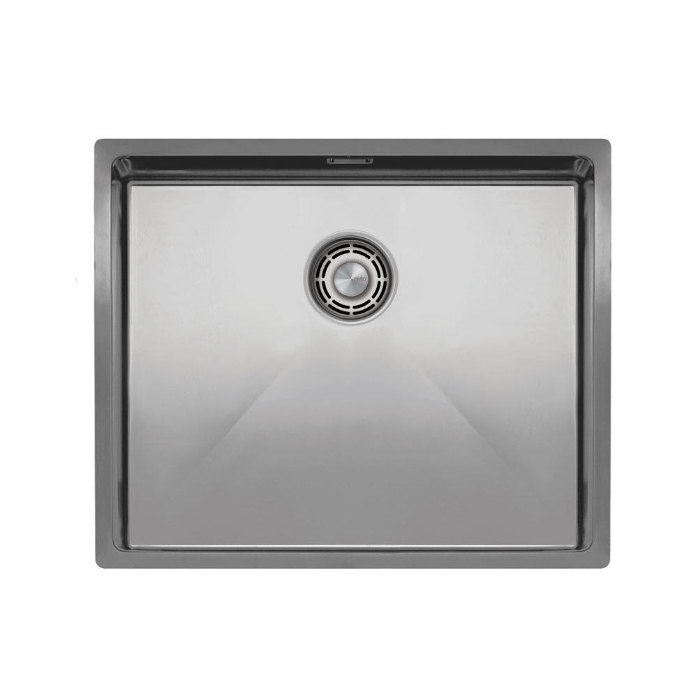 Évier De Cuisine Acier Inoxydable - Nivito CU-500-B Strainer ∕ Waste Kit Color Brushed Steel