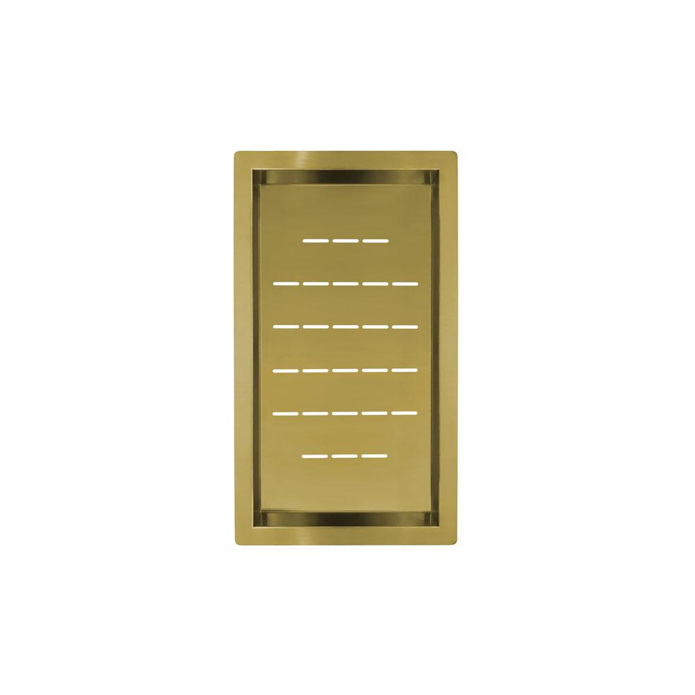Bol De Passoire Dore/Or/Laiton - Nivito CU-WB-240-BB