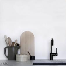 Robinet De Cuisine Noir - Nivito 18-RH-320