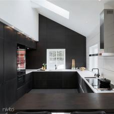 Robinet De Cuisine Noir - Nivito 20-RH-320