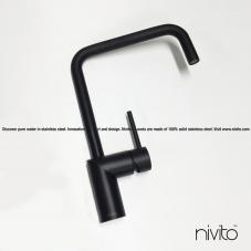 Robinet De Cuisine Noir - Nivito 23-RH-320
