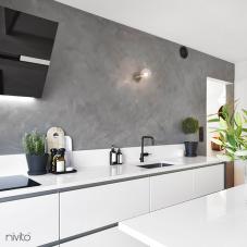 Robinet De Cuisine Noir - Nivito 4-RH-320